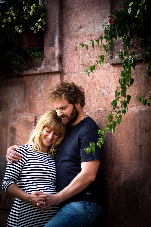 Paarportrait in der Nachmittagssonne - Fotografin Anja Schnell