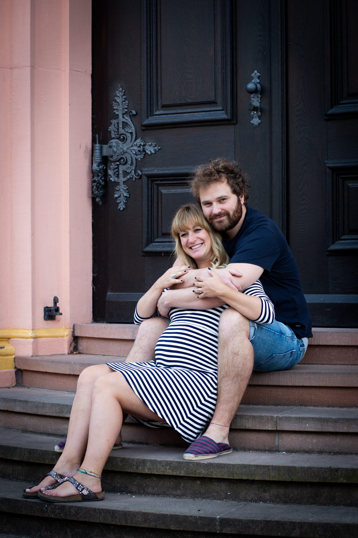 Paar Portrait, natürlich und entspannt - Fotografin Anja Schnell